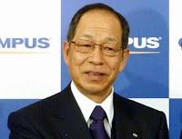 Olympus Corp. Ex-President Tsuyoshi Kikukawa